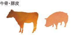 牛骨・豚皮