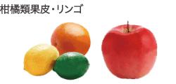 柑橘類果皮・リンゴ